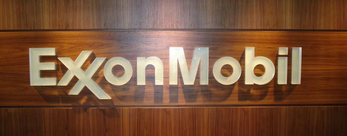 Exxon Mobil Signage