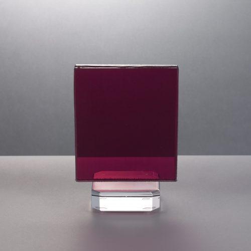 Sample#112 Laminated coloured film – Cerise 01
