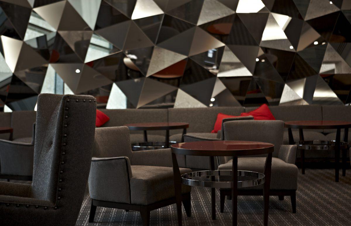 The Brooklands Hotel, Weybridge, Surrey table close up