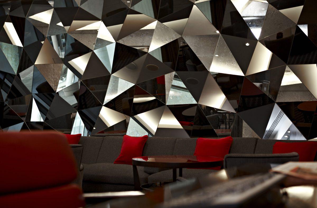 Brooklands Hotel, Surrey - Daedalian Glass Studios
