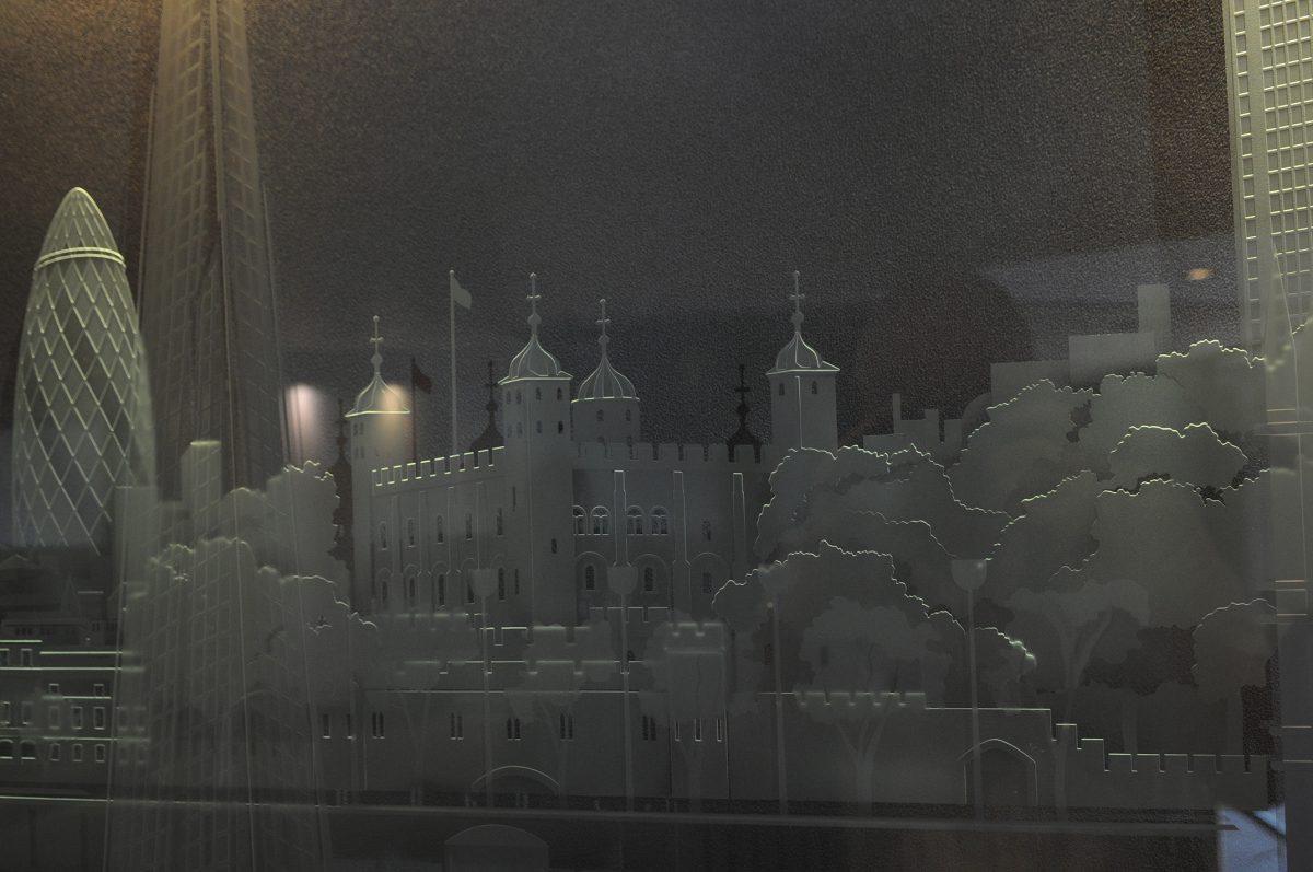 Macready House, London - Daedalian Glass Studios