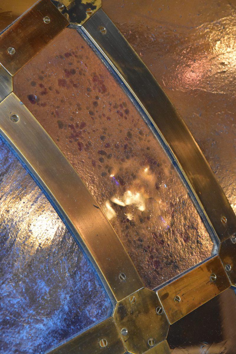 Close up of glass bar at RAC