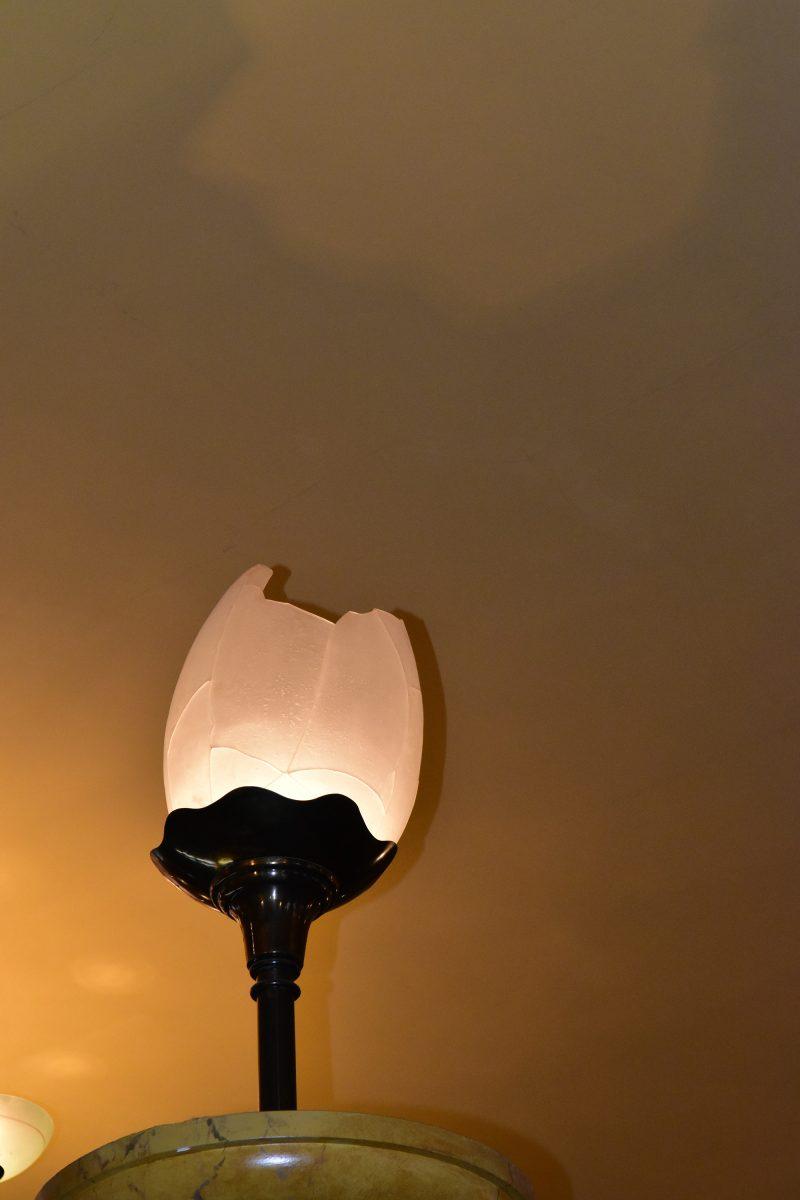 Close up of Lamp, RAC Club, London