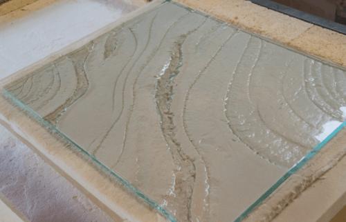 kiln formed refractory mould