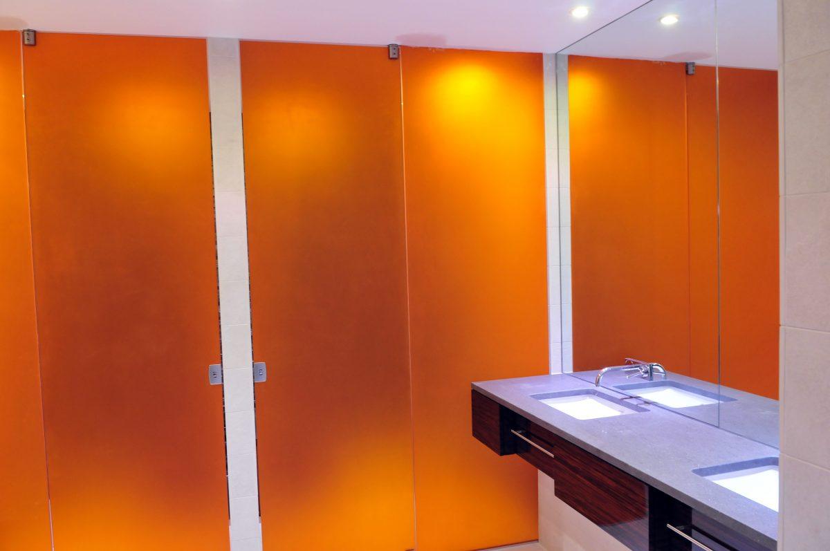 Laminated glass shower enclosures