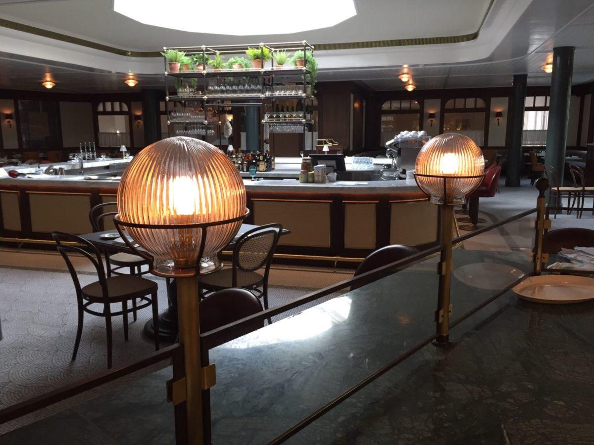 The Birnam Brasserie at the Gleneagles Hotel.