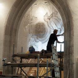 Installation at St Nicholas's Church