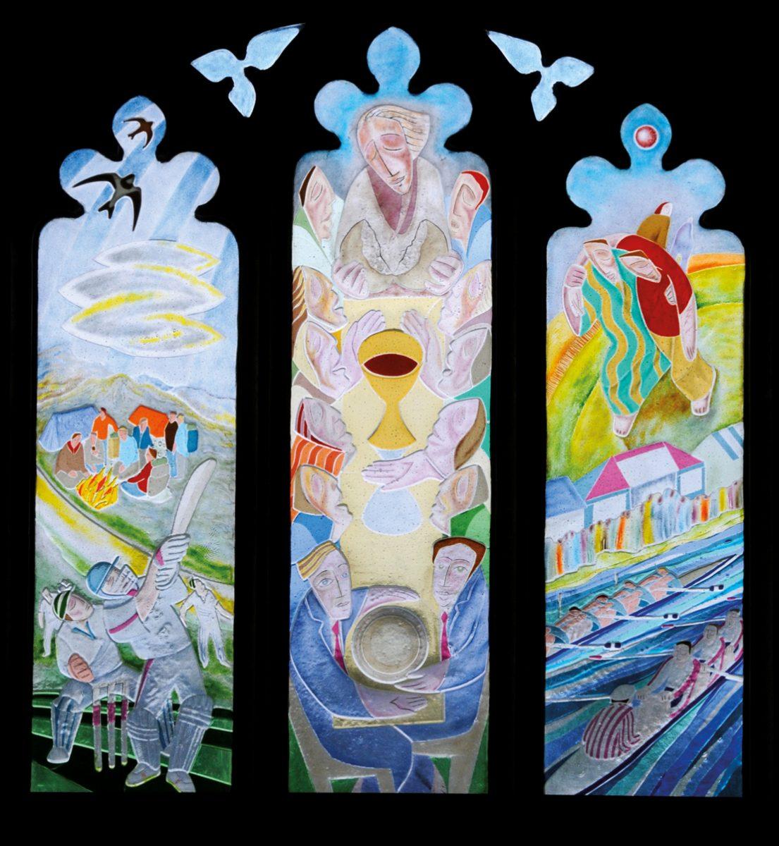 Abingdon School Chapel Windows