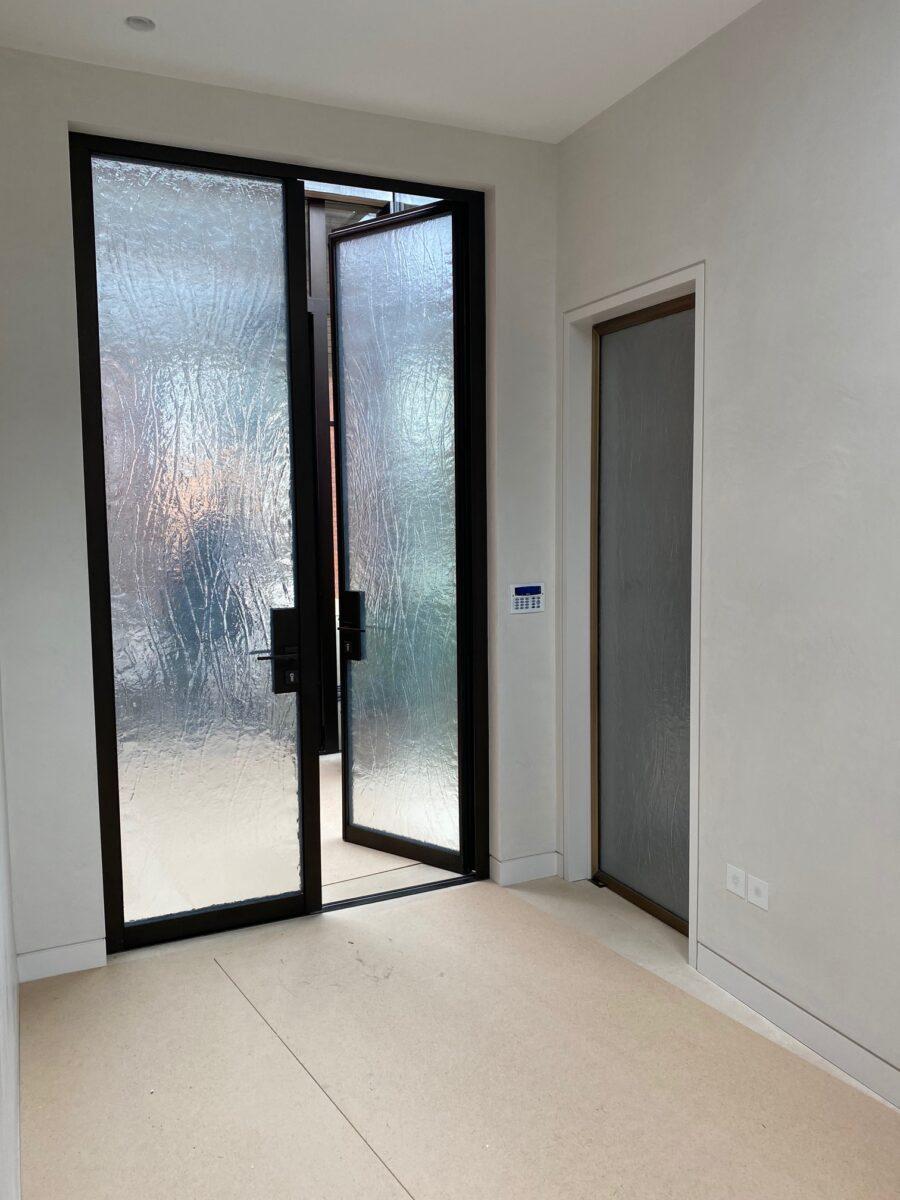 Kiln Formed Entrance Doors